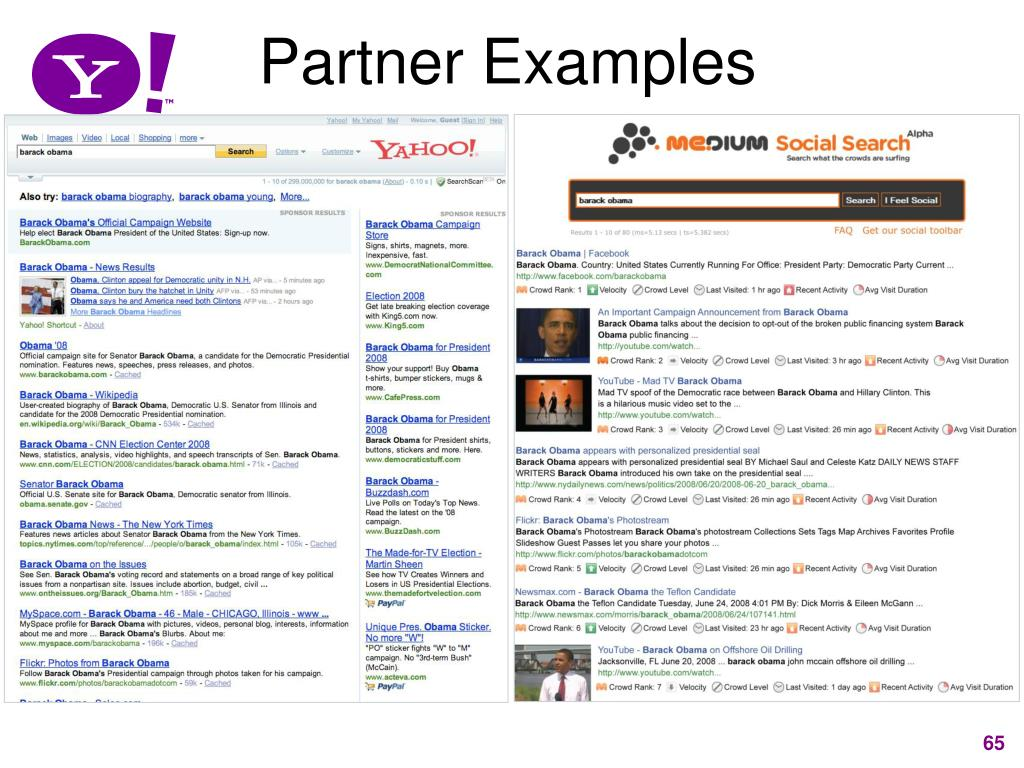 Partner Examples
