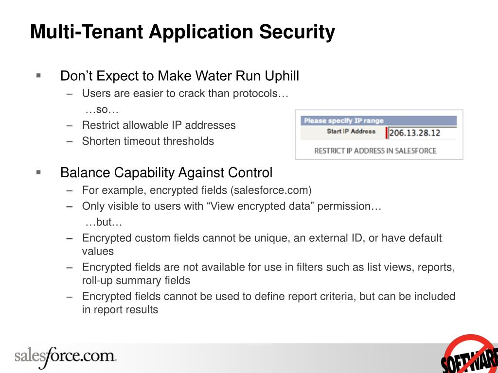 Multi-Tenant Application Security