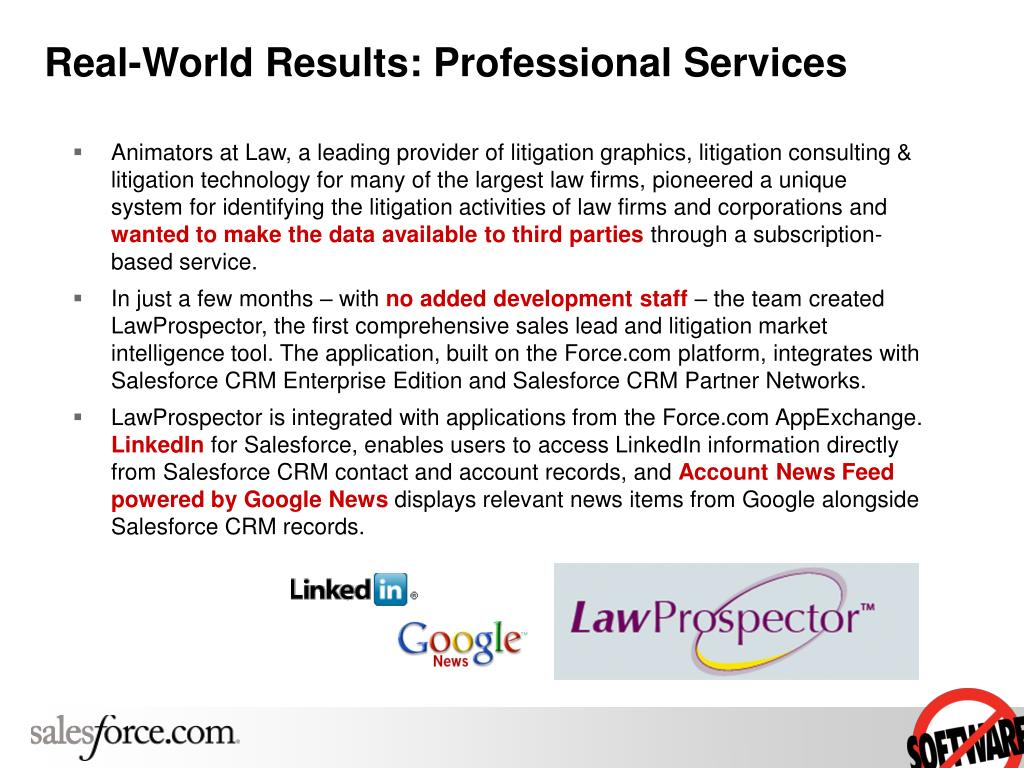 Real-World Results: Professional Services