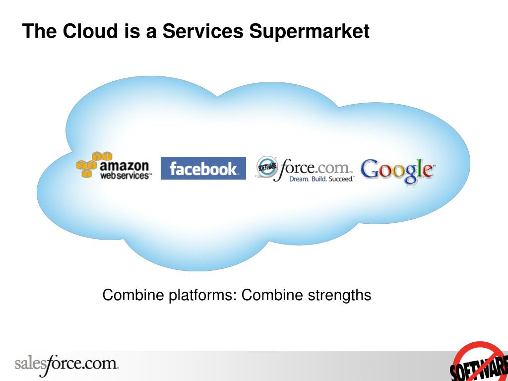 The Cloud is a Services Supermarket