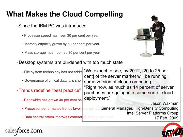 What makes the cloud compelling l.jpg