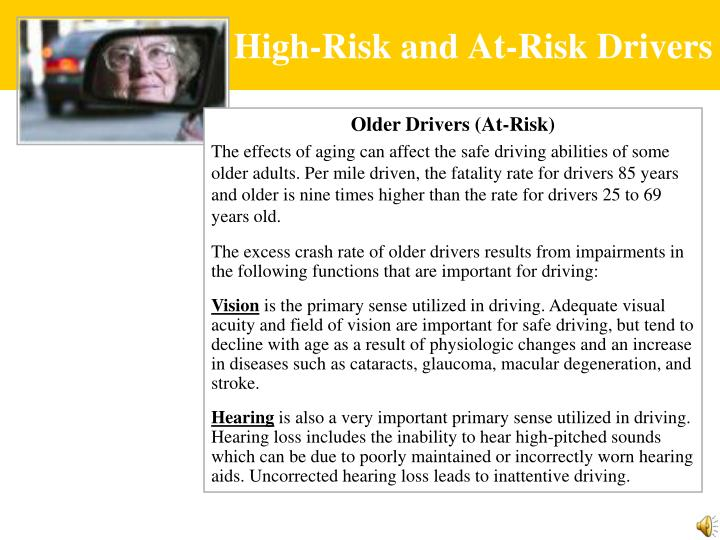High-Risk and At-Risk Drivers