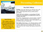 preventing collisions1