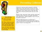 preventing collisions4