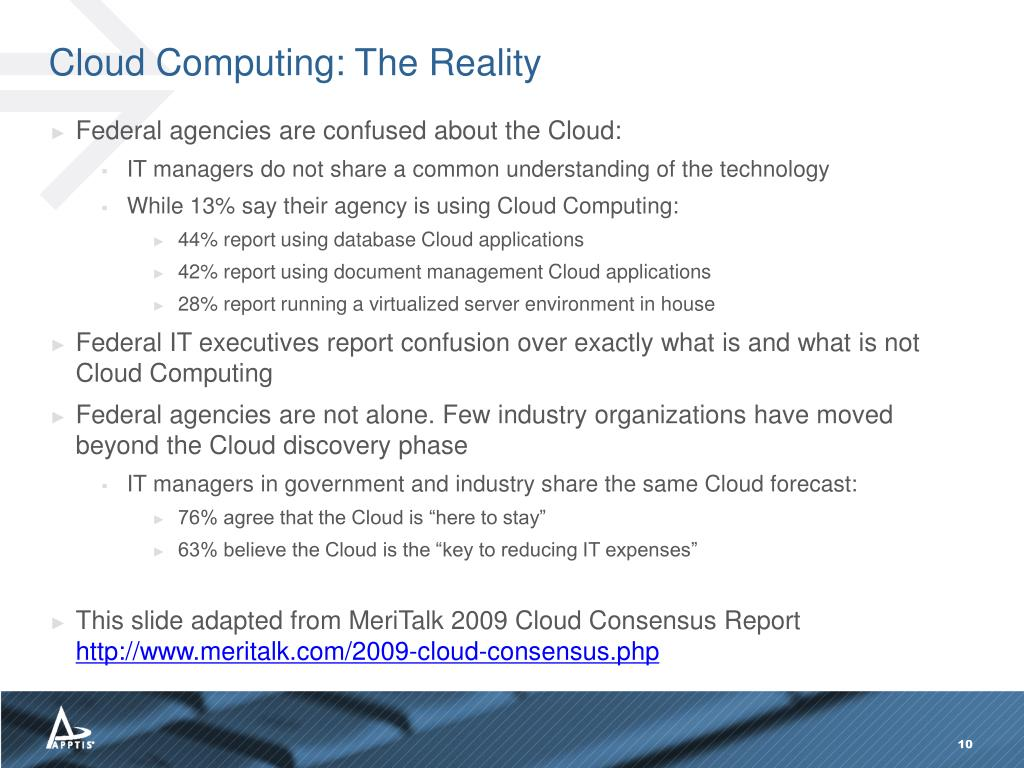 Cloud Computing: The Reality
