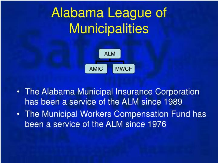 Alabama League of Municipalities