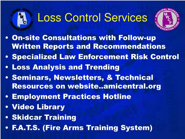 Loss Control Services