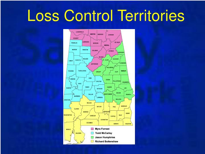 Loss Control Territories
