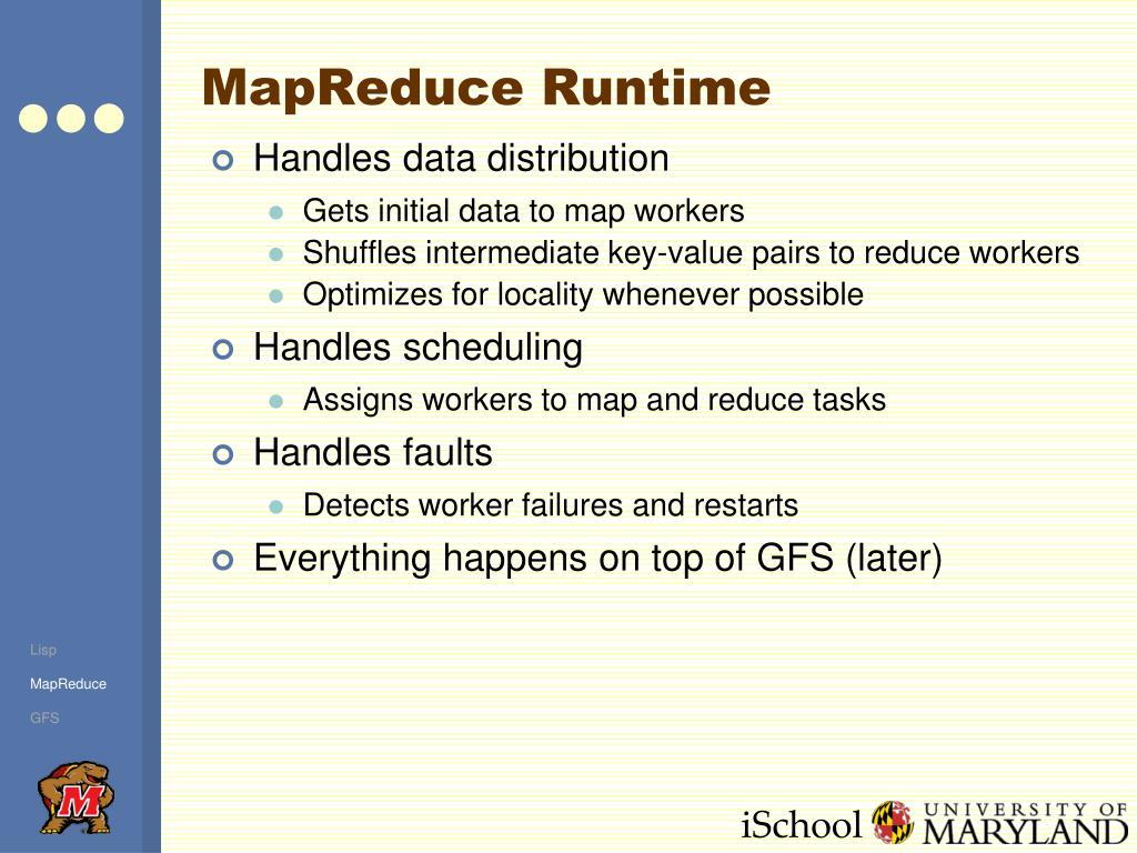 MapReduce Runtime