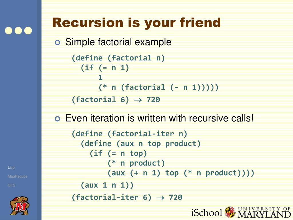 Recursion is your friend