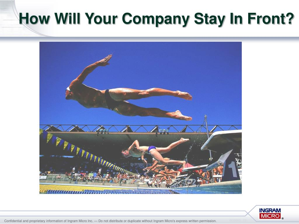 How Will Your Company Stay In Front?