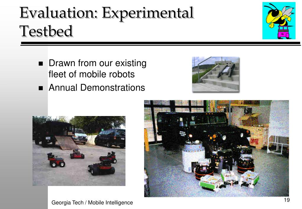 Drawn from our existing fleet of mobile robots