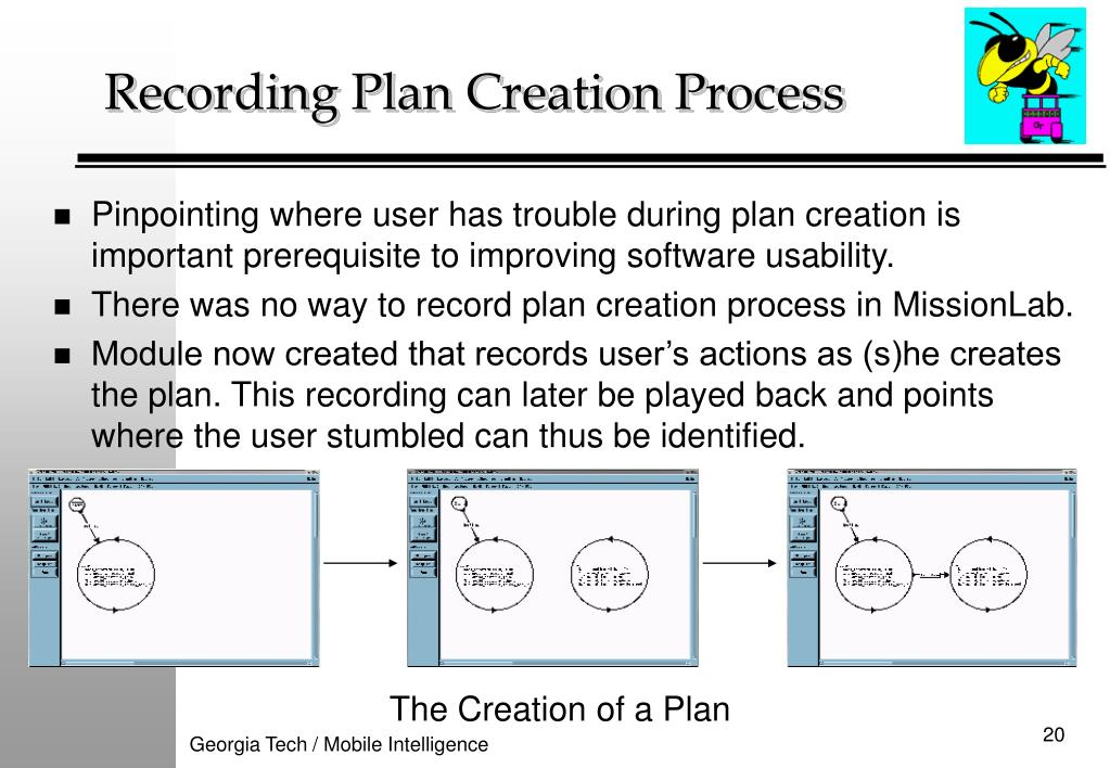 Recording Plan Creation Process