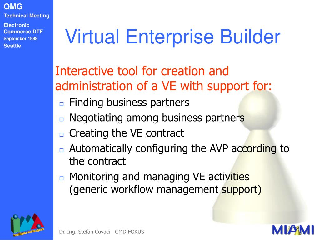 Virtual Enterprise Builder