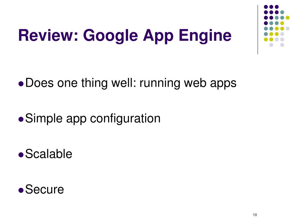 Review: Google App Engine