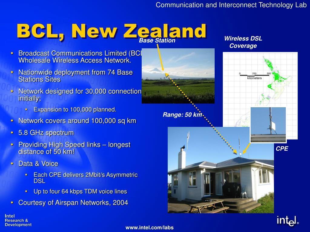 BCL, New Zealand
