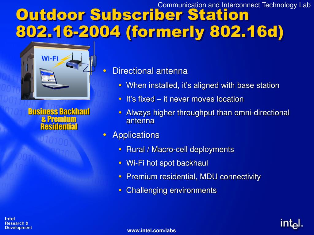 Outdoor Subscriber Station