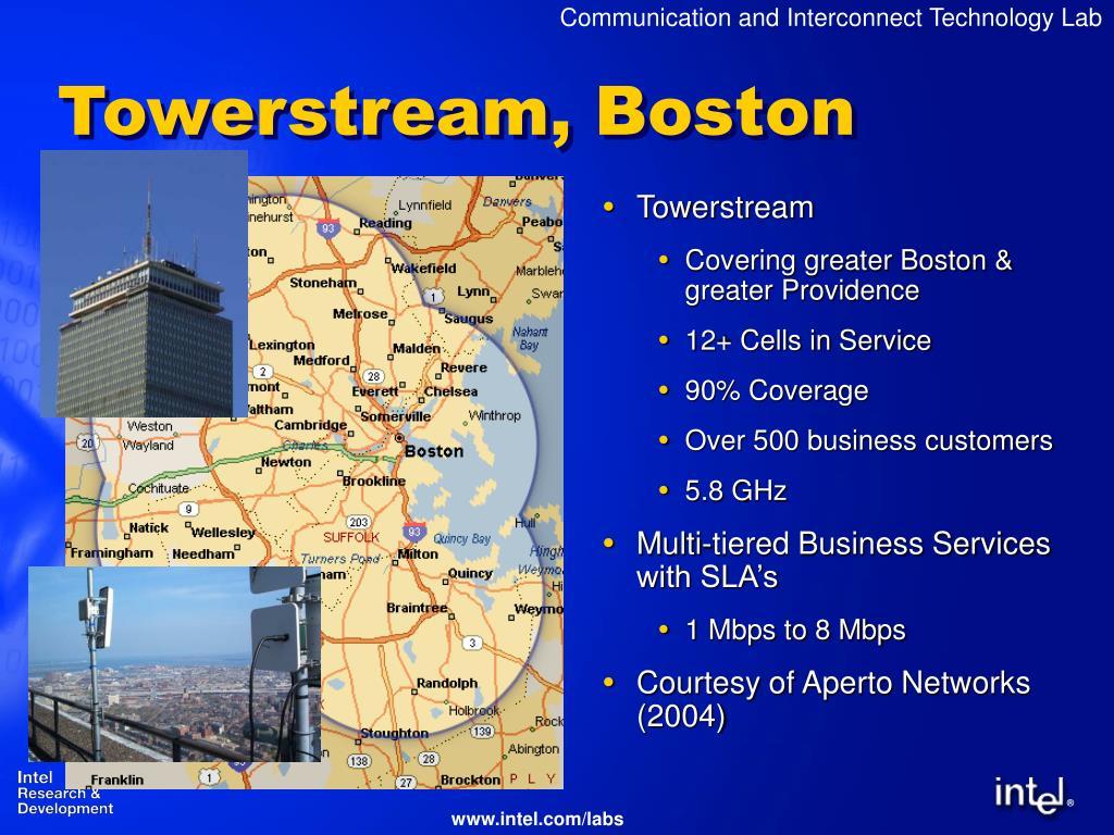 Towerstream, Boston