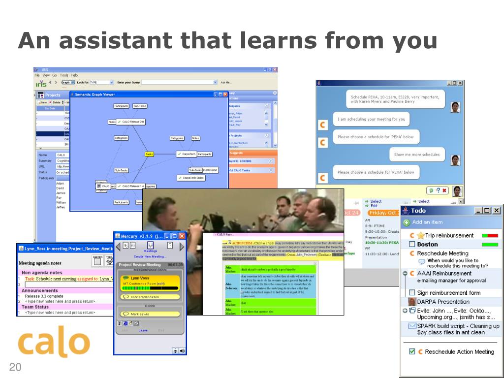 An assistant that learns from you