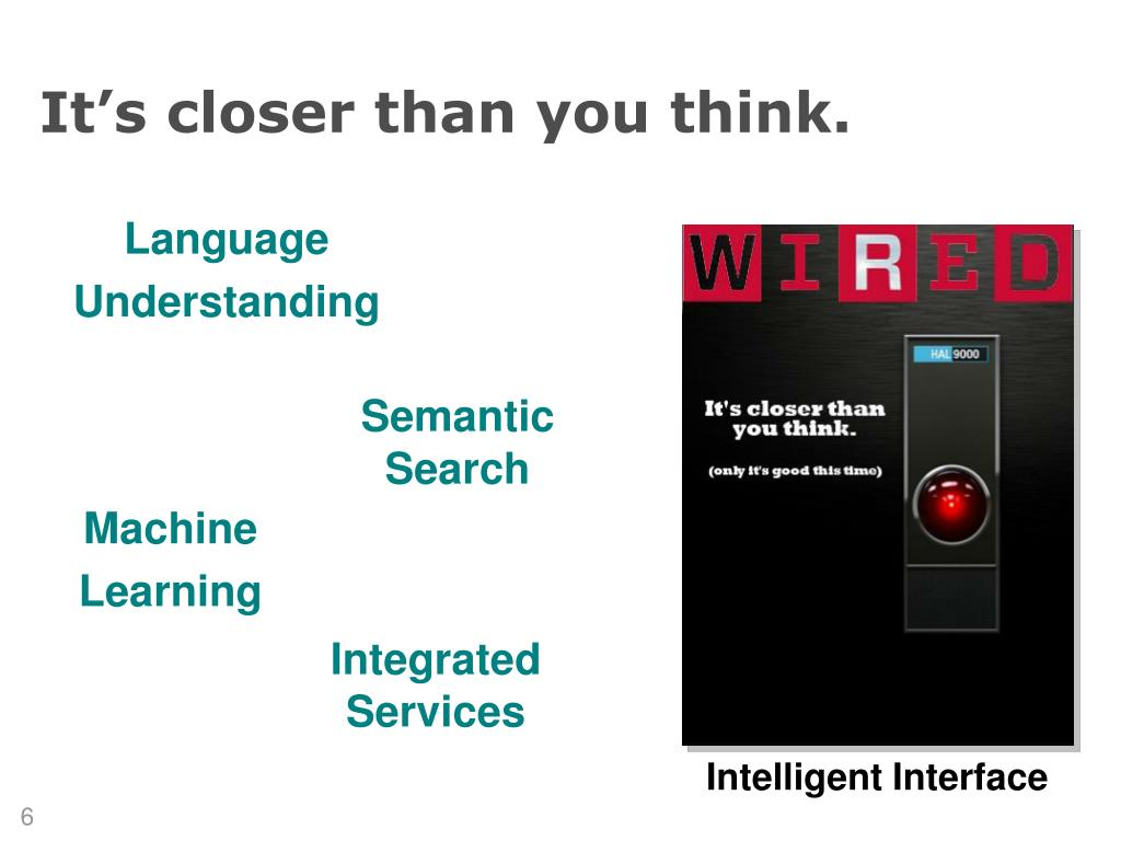 Intelligent Interface