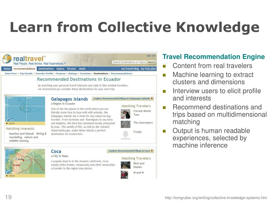 Learn from Collective Knowledge