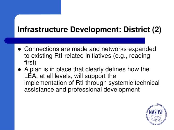 Infrastructure Development: District (2)