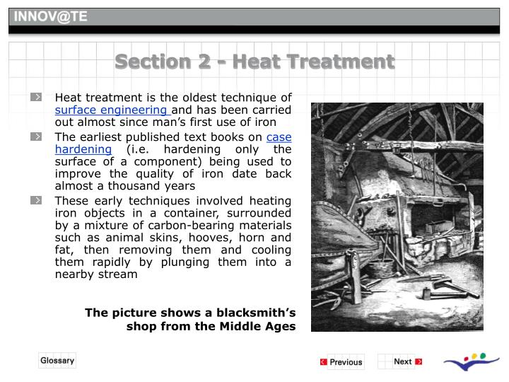 Section 2 - Heat Treatment