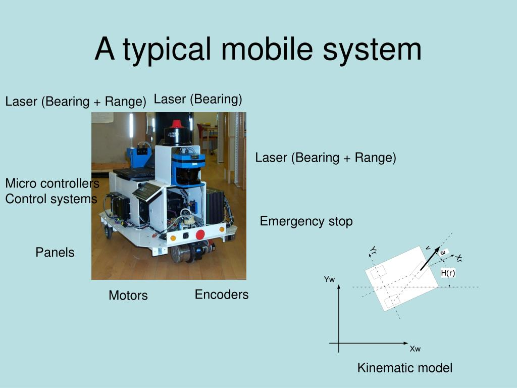 A typical mobile system