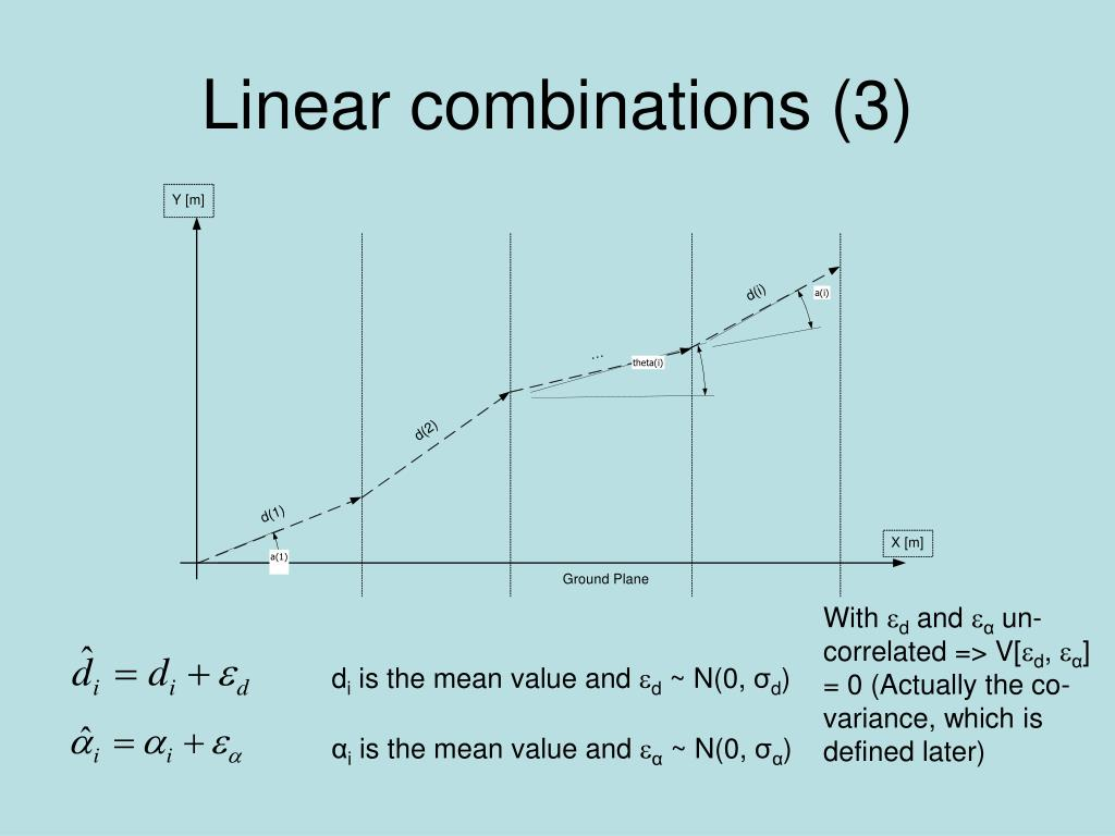 Linear combinations (3)