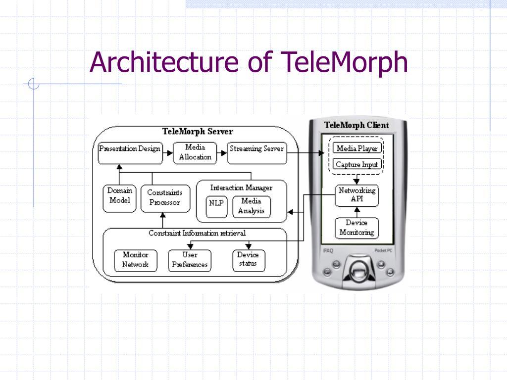 Architecture of TeleMorph