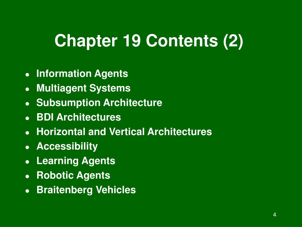 Chapter 19 Contents (2)
