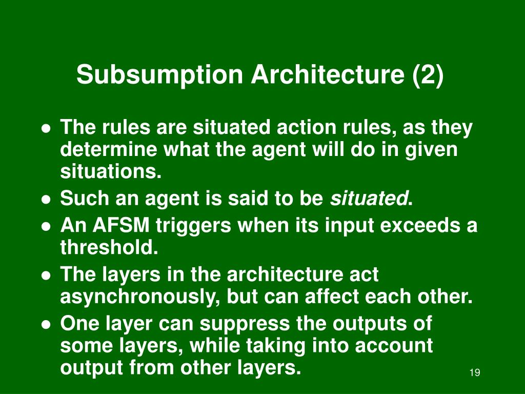 Subsumption Architecture (2)