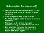 subsumption architecture 2
