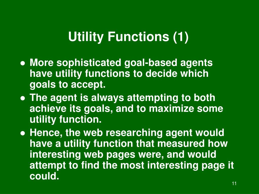 Utility Functions (1)