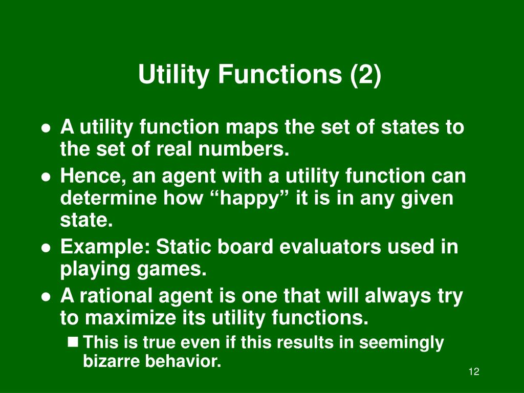 Utility Functions (2)