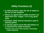 utility functions 2