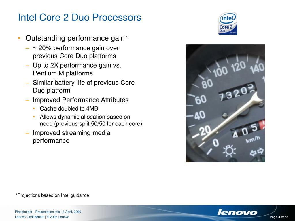 Intel Core 2 Duo Processors
