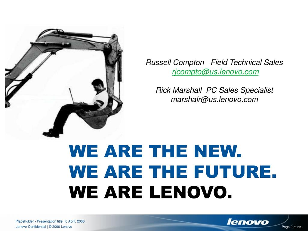 Russell Compton   Field Technical Sales