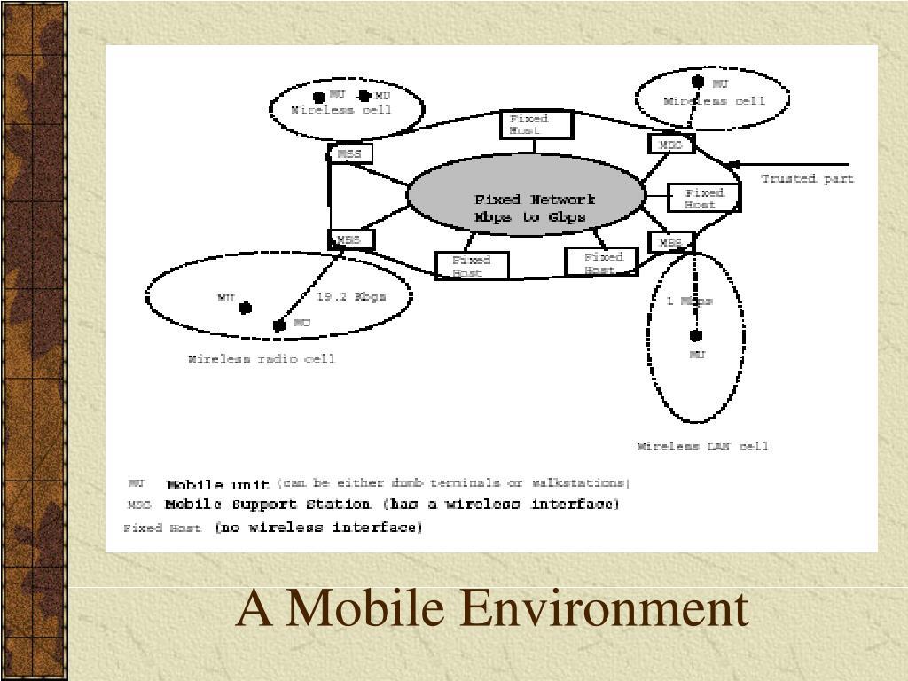 A Mobile Environment