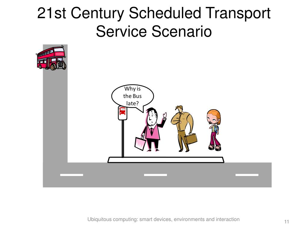 21st Century Scheduled Transport Service Scenario