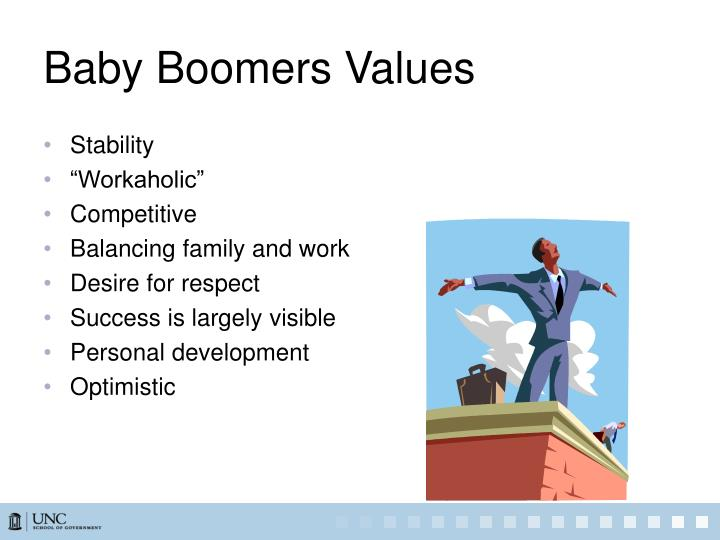 Baby Boomers Values