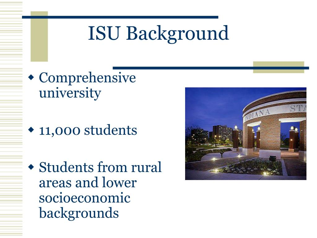 ISU Background