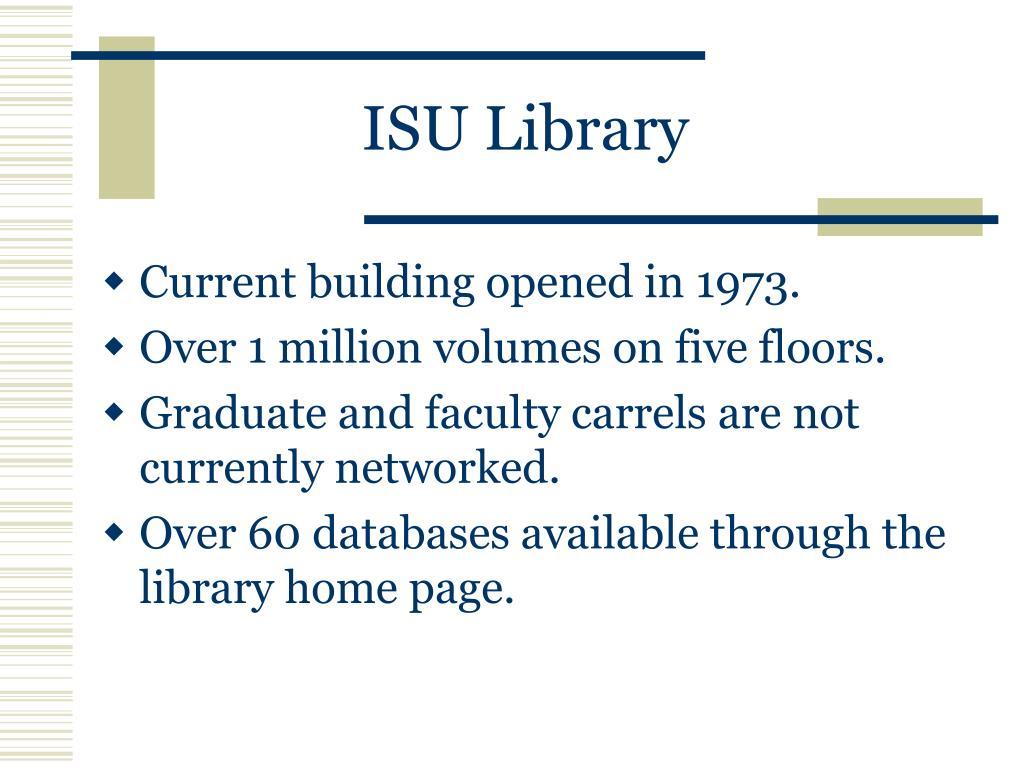 ISU Library