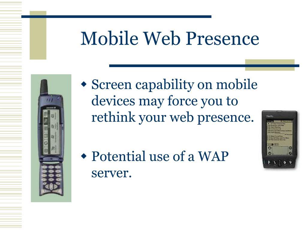 Mobile Web Presence