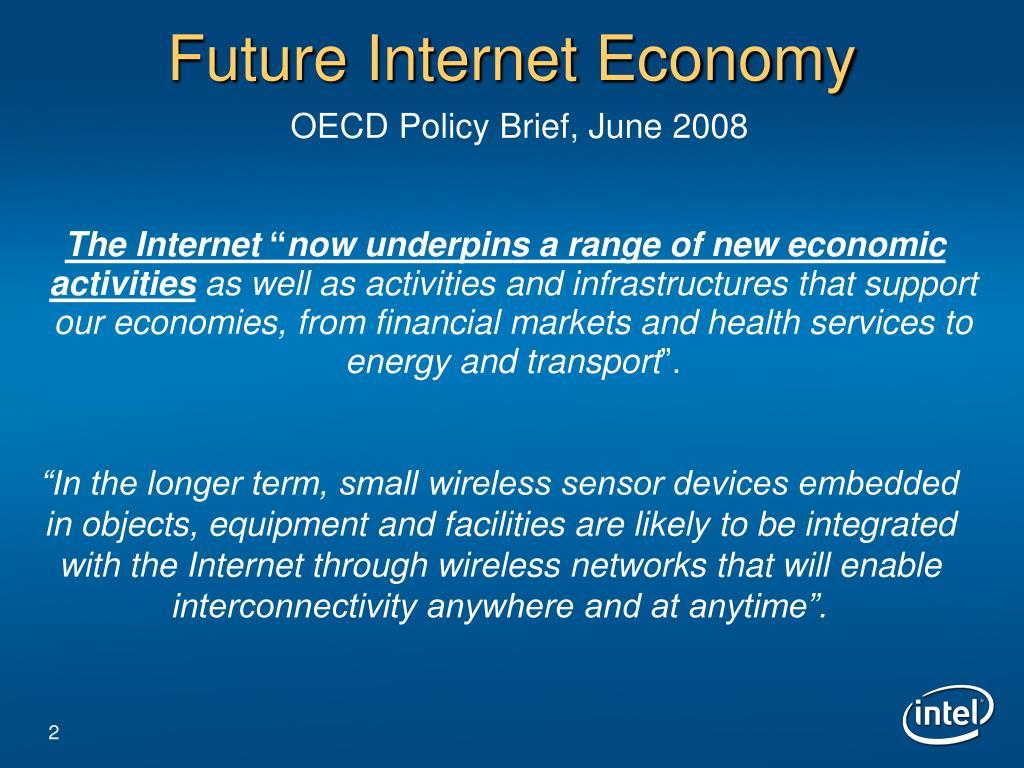 Future Internet Economy