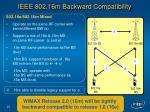ieee 802 16m backward compatibility