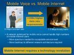 mobile voice vs mobile internet