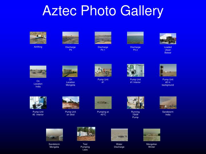 Aztec Photo Gallery