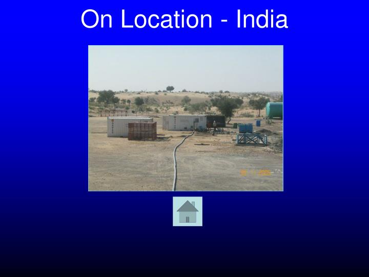 On Location - India