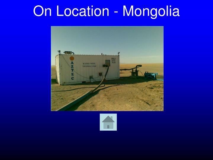 On Location - Mongolia